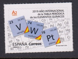 4.- SPAIN ESPAGNE 2019 International Year Periodic Table - Química