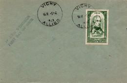 Lamartine 1948 - FDC Vichy Allier 05.04.1948 - FDC