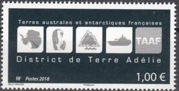 TAAF 2018 Logo De Terre Adélie Neuf ** - Neufs