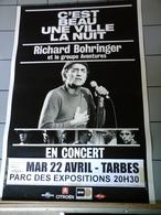 Affiche - Richard Bohringer Et Le Groupe Aventure En Concert à Tarbes - Affiches & Posters