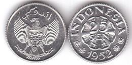 Indonesia - 25 Sen 1952 UNC Lemberg-Zp - Indonésie