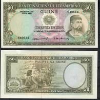 PORTUGESE GUINEA P44a 50 Escudos 1971 UNC - Banknotes