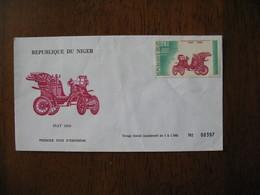 FDC  Enveloppe  Niger Niamey   1975 Fiat 1899   à Voir  N° 397 - Niger (1960-...)