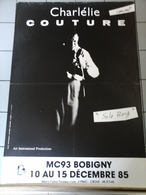 Affiche - Bobigny 1985 - Charlétie Couture - Posters