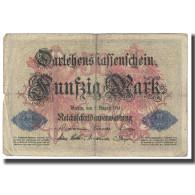 Billet, Allemagne, 50 Mark, 1914, 1914-08-05, KM:49a, TTB - [ 2] 1871-1918 : Empire Allemand
