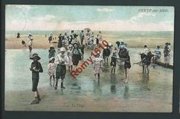 Heyst. Sur Mer. La Plage. Aqua Photo N°2007. Belle Animation.  2 Scans - Heist