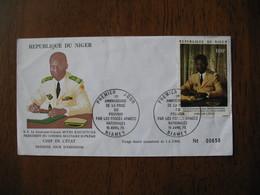 FDC  Enveloppe  Niger Niamey   1975 Chef De L'Etat Seyni Kountche   à Voir  N° 650 - Niger (1960-...)