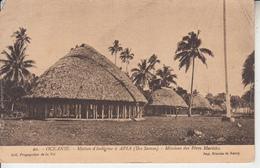 OCEANIE - Maison Indigène à APIA ( Iles Samoa ) Missions Pères Maristes ( Upolu ) -  PRIX FIXE - Samoa