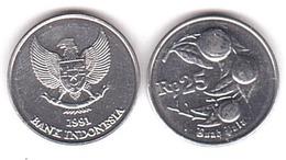 Indonesia - 25 Rupiah 1991 UNC Lemberg-Zp - Indonésie