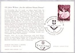 1967  100 Jahre Walzer - FDC Karte (ANK 1263, Mi 1233) - FDC