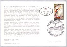 1967  Kunst Im Nibelungengau FDC Karte (ANK 1270, Mi 1240) - FDC