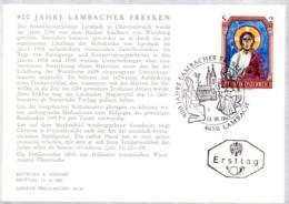1967  Lambacher Fresken FDC Karte (ANK 1276, Mi 1246) - FDC