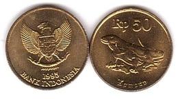 Indonesia - 50 Rupiah 1995 UNC Lemberg-Zp - Indonésie