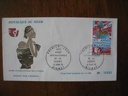 FDC  Enveloppe  Niger Niamey   1975 Année Internationale De La Femme  à Voir  N° 392 - Niger (1960-...)