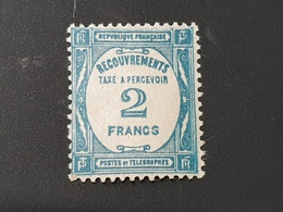 Timbre Taxe N° 61  Neuf ** Gomme D'Origine TTB - 1859-1955 Mint/hinged