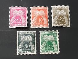 Timbre Taxe N° 90 à 94  Neuf ** Gomme D'Origine TTB - 1960-.... Mint/hinged