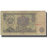 Billet, Bulgarie, 2 Leva, 1962, KM:89a, AB+ - Bulgarie