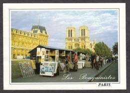 85076/ PARIS, Les Bouquinistes Et Notre-Dame - The River Seine And Its Banks