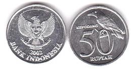 Indonesia - 50 Rupiah 2002 UNC Lemberg-Zp - Indonésie