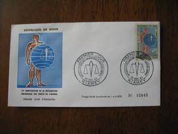 FDC  Enveloppe  Niger Niamey   1963 15 è Anniversaire Des Droits De L'Homme   à Voir  N° 2045 - Niger (1960-...)