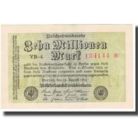 Billet, Allemagne, 10 Millionen Mark, 1923, 1923-08-22, KM:106a, SPL+ - [ 3] 1918-1933: Weimarrepubliek