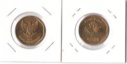 Indonesia - 500 Rupiah 1992 AUNC Lemberg-Zp - Indonésie
