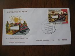 FDC  Enveloppe  Niger Niamey   1976 Prise Du Pouvoir Par Les F.A.N.    à Voir  N° 702 - Niger (1960-...)