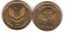Indonesia - 500 Rupiah 1991 AUNC Lemberg-Zp - Indonésie