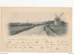 44 LE CROISIC VUE GENERALE PRISE DE LA ROUTE DE BATZ  MOULIN A VENT CPA BON ETAT - Windmills