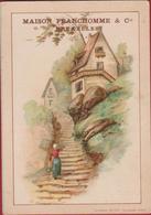 Old Chromo (Liebig Style) Litho Lithographie  Maison Franchomme Bruxelles (En Très Bon Etat) (In Zeer Goede Staat) - Chromos