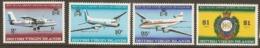 British Virgin Islands   1969  SG 228-31  Reef Island  Airport  Unmounted Mint - Britse Maagdeneilanden