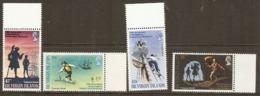 British Virgin Islands  1969  SG 232-5   Robert Louis Stevenson Unmounted Mint - Britse Maagdeneilanden