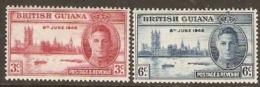 British Guiana  1946   SG 320-1  Victory Unmounted Mint - British Guiana (...-1966)