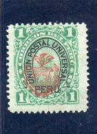 PEROU 1882 * - Pérou