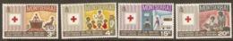 Montserrat 1970   SG 238-41  Red Cross   Unmounted Mint - Montserrat