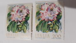 ITALIA 1983 FIORE RODODENDRO CORNISHA (DOPPIA FIRMA ) - 6. 1946-.. República