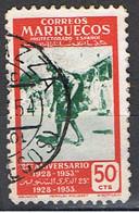 (MAE 73) MAROC ESPAÑOL // YVERT 448 // 1953 - Maroc Espagnol
