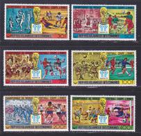 COMORES N° 241 à 244, AERIENS 153 & 154 ** MNH Neufs Sans Charnière D8887) Vainqueurs Coupe Du Monde De Football -1978 - Comores (1975-...)