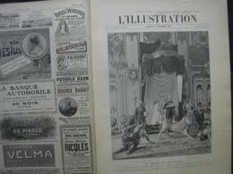 L'ILLUSTRATION 3284 DANEMARK/ MADRID / ALGESIRAS / ST PETERSBOURG TSAR/ SHANGHAI / BARTHOLDI / - L'Illustration