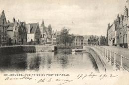 BELGIQUE - FLANDRE OCCIDENTALE - BRUGES - Vue Prise Du Pont De Paille. (n°307). - Brugge