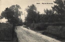 BELGIQUE - LIMBOURG - GENCK - GENK - Weg Van Winterslag - (Route De Winterslag). - Genk