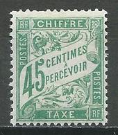 France Timbres-taxe YT N°36 Duval Neuf ** - 1859-1955 Neufs