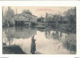 31 SAINT CLAR LE MOULIN  CPA BON ETAT - Water Mills