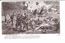 """Bataille Sur L'Yser, Prise De La """"Maison Du Passeur"""" Par Les Bataillons D'Afrique, LAVEN Et LEMONIER, Ed. I.M.L. 1940 - Autres"""