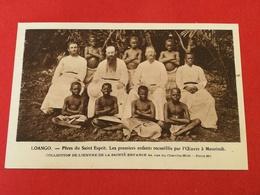 CPA GABON / LOANGO - PERES DU SAINT-ESPRIT - Les Premiers Enfants Recueillis Par L'Oeuvre à MOURINDI - Gabon