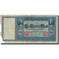Billet, Allemagne, 100 Mark, 1910, 1910-04-21, KM:42, AB+ - [ 2] 1871-1918 : German Empire