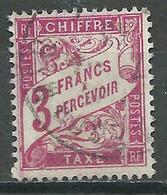 France Timbres-taxe YT N°42A Duval Oblitéré ° - 1859-1955 Used