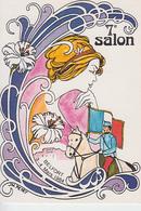 RT32.187 7e SALON  CARTOPHILE DE BELFORT .MARS 1984.DESSIN DE J.M.PETEY - Bourses & Salons De Collections