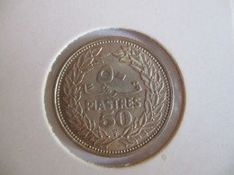 Liban: 50 Piastres 1952 - Lebanon