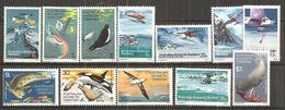 AUSTRALIA ANTARCTICA1973:Michel23-34 (ScottL23-34)mnh** Cat.Value $13.80 - Territoire Antarctique Australien (AAT)